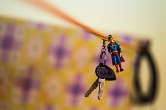 The Day Superman hung from a rope - Discover365 Project - Day54